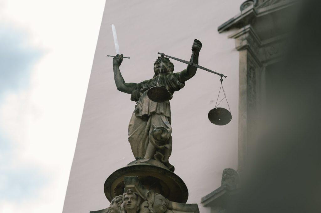Justitia in Görlitz